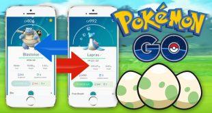 Pokemon go cho phép người dùng trao đổi pokemon với nhau