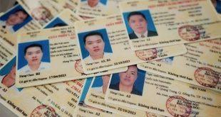 Các loại bằng lái xe ở Việt Nam