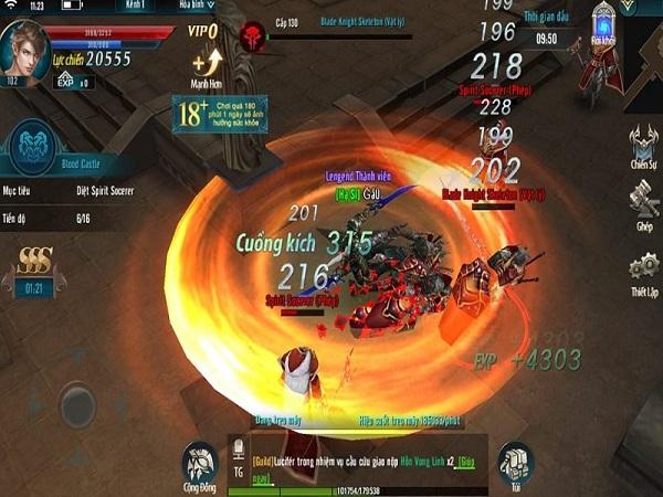 Lối chơi và đồ họa của MU Strongest