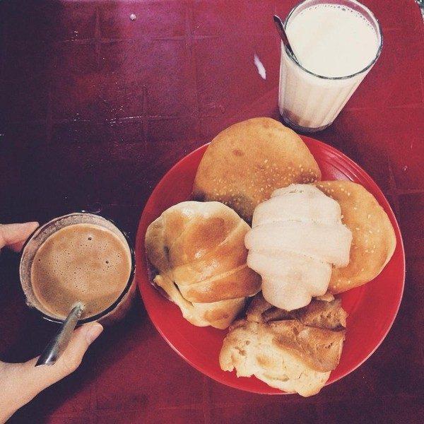 Sữa đậu nành chợ Đà Lạt