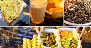 Ẩm thực tại chợ Đà Lạt