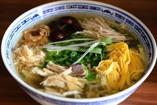 Bún thang Hà Nội - Món ăn ngon hấp dẫn