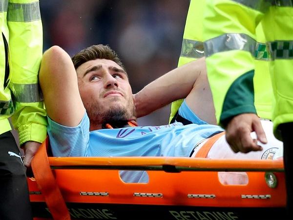 HLV Man City cập nhật về tình hình chấn thương của Laporte