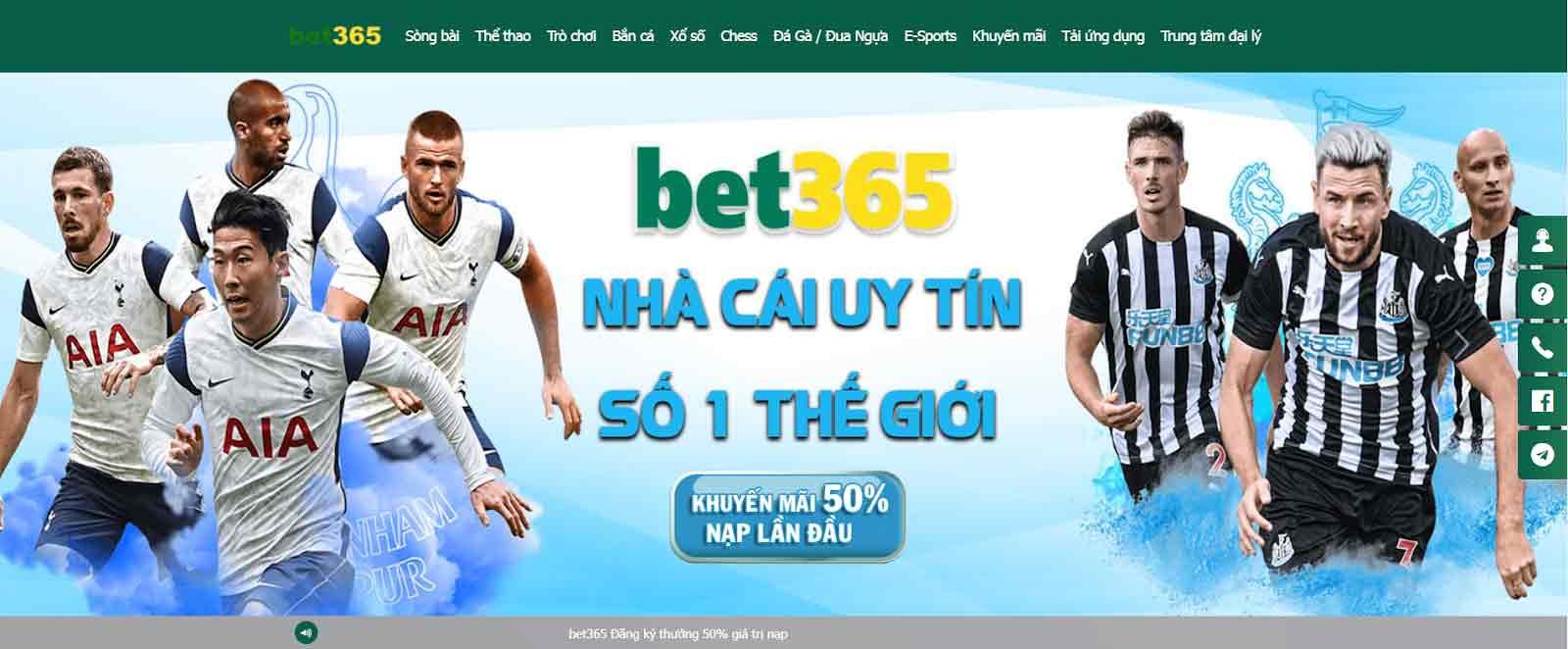 Bet365 cũng được yêu thích bởi nhiều khuyến mãi hấp dẫn
